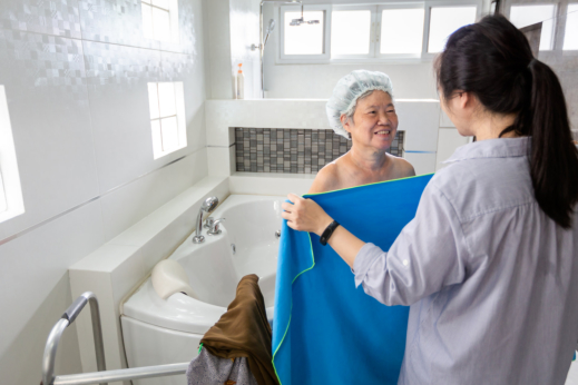 Caregiver Notes for Bathing and Hygiene